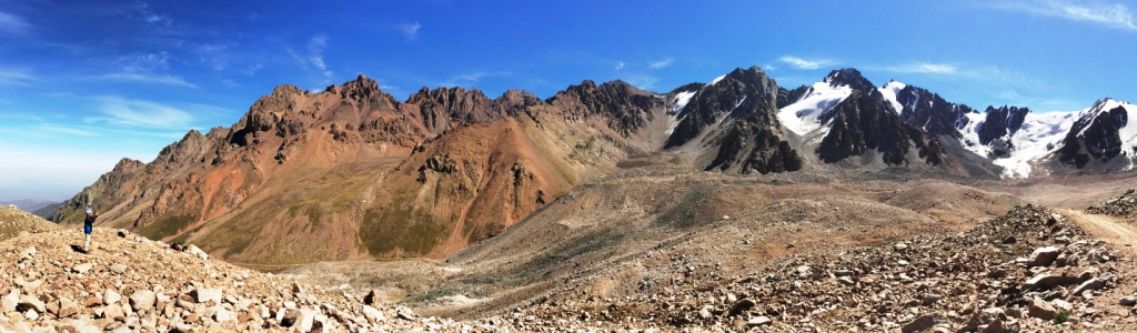 hiking Almaty