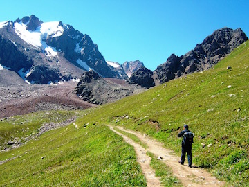 Tien Shan hiking